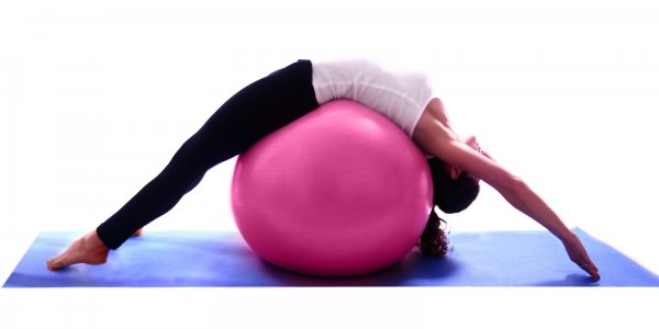 Pilates-Kursleiterin
